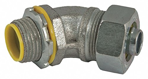 Insulated Connector, 1/2 In., 45 Deg ()