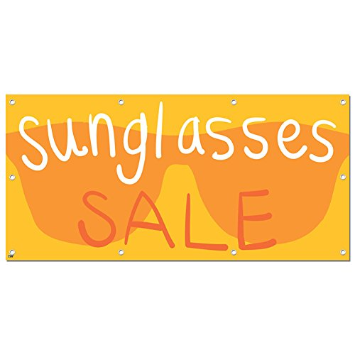 Graphics and More Sunglasses Sale - Retail Store Business Sign Banner - 58