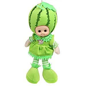 Lovely 40cm Watermelon Fruit Doll Toys with Music for kids