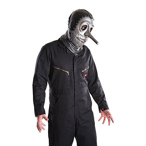 Slipknot Men's Band Member Adult Size Costume Mask + Coolie (Chris)