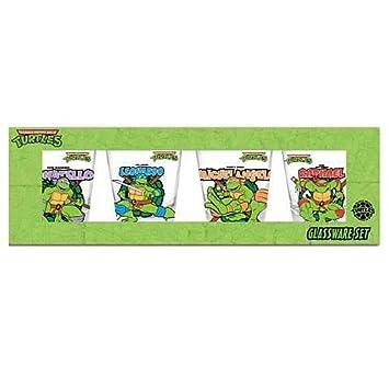 De las Tortugas Ninja 4-juego de vasos de chupito de acción ...