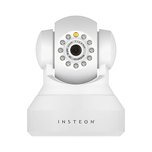 Insteon 75790WH Wireless Security IP Camera with Pan, Tilt and Night Vision (Certified Refurbished)