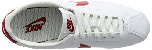 RED Nike 13 M WHITE Classic Leather Men's US VARSITY Cortez aYqraCw