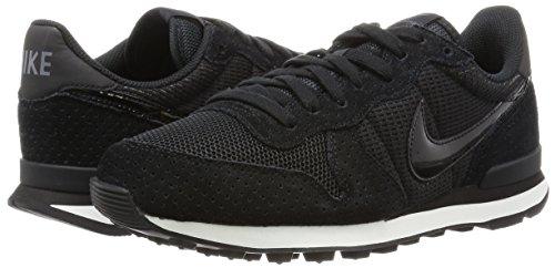 Nike Summit Blanc Pour noir Chaussures Femmes Internationalist Fonc Gris Noir Black wzdvxvq