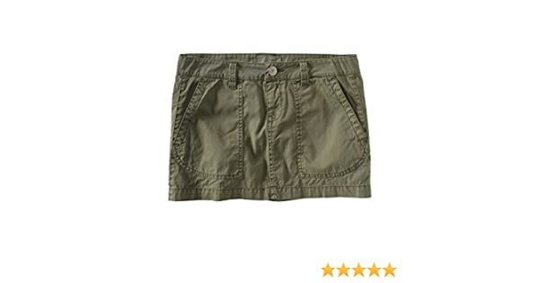 Aeropostale Womens Chino Khaki Mini Skirt at Amazon Women's ...