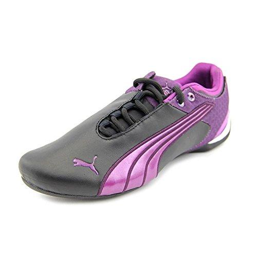 Puma Future Cat M2 CM Women's Leather Sneaker Shoes Shoes Size 8 Black