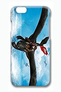 iPhone 6 plus Case, 6 plus Case - Protective Ultra Thin 3D Print Case for iPhone 6 How To Train Your Dragon 2 Slim Fit Hard Back Cover Case for iPhone 6 4.7 Inches