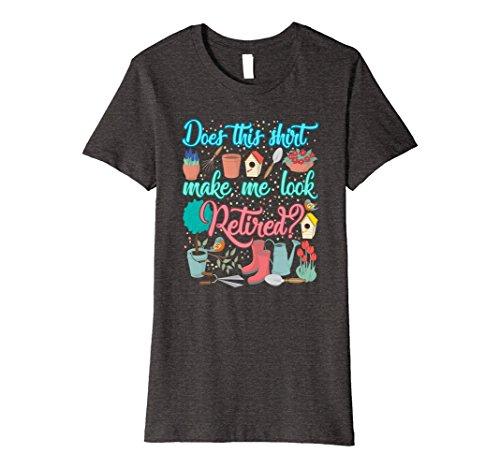 Womens Gardening Grandma Retirement Gifts For Mom T-Shirt Large Dark Heather