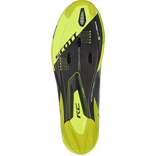 Scott Road RC SL Shoe - Mens Black/Neon Yellow 4tfhm9So0O