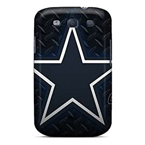 Unique Design Galaxy S3 Durable Tpu Case Cover Dallas Cowboys