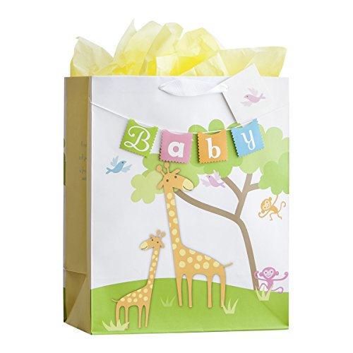 Large Specialty Gift Bag - Baby - Giraffe