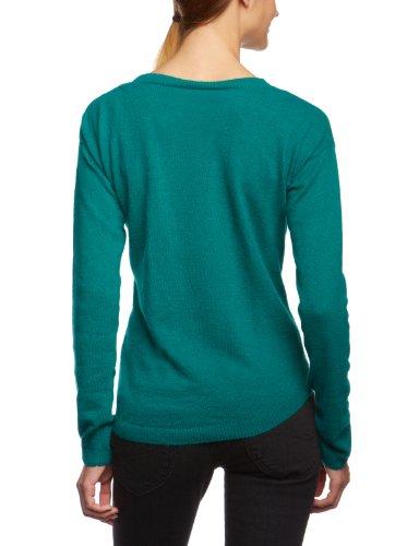 Blend - Jersey regular fit de manga larga para mujer Verde 307