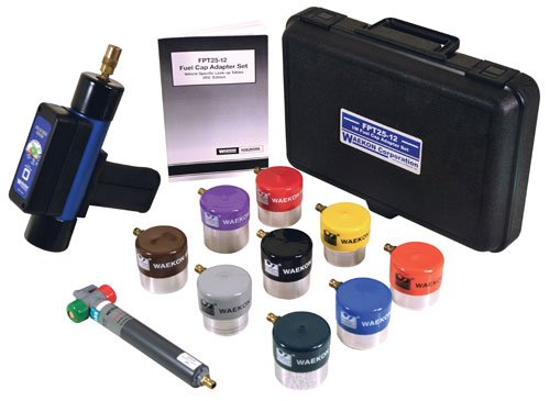 Waekon I/M Fuel Cap Pressure Tester Kit (FPT27EX1) by Waekon (Image #1)