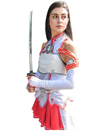 DAZCOS US Size Red Asuna Cosplay Costume (Women XS) -
