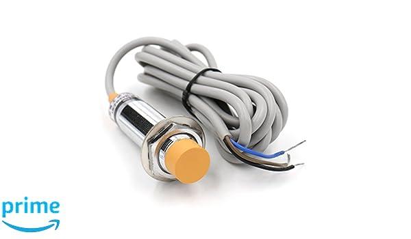 heschen capacitiva Sensor de proximidad Interruptor Detector de ljc18 a3-h-z/por 10 mm 6 - 36 VDC 300 mA PNP NO Normalmente Abierto (alambre de) 3: ...