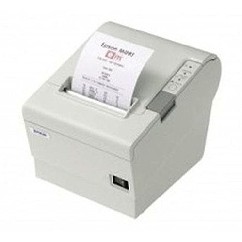 Epson C31CA85014 TM-T88V Thermal Receipt Printer Serial and USB Energy Star with PS180 - Cool White