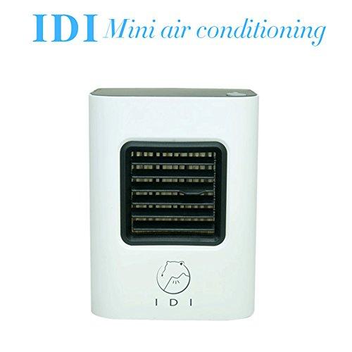 Desktop Air Conditioning Portable Air Conditioner Energy Efficient Mini Air Conditioning Fan Giving You Cool Summer baby air conditioning fan (Black)