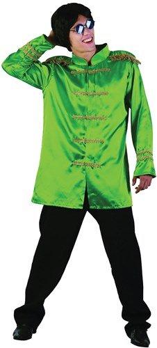 60s 70s Beatles Sgt Pepper Jacket - Green (Chest 38-44