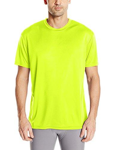 (Craft Sportswear Mens Essential Tee Shirt Moisture Wicking, Lightweight Technical T Shirt Flumino, Medium)