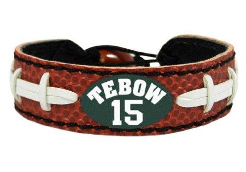 Gamewear Bracelet (Tim Tebow New York Jets Classic NFL Jersey Bracelet by GameWear)