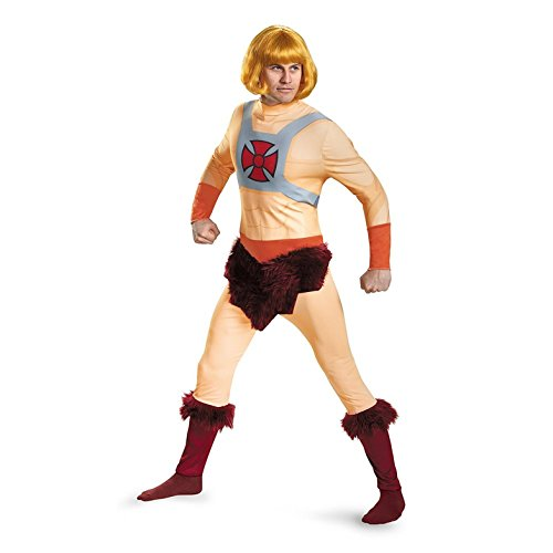 Disguise Men's He-Man Classic Adult Costume, Multi, (He-man Halloween Costumes)