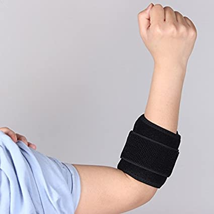 4766a3fe2d Amazon.com : WINOMO Tennis Golfer Elbow Brace Strap Band Relieves  Tendonitis and Forearm Pain Elbow Support Braces for Sports : Sports &  Outdoors
