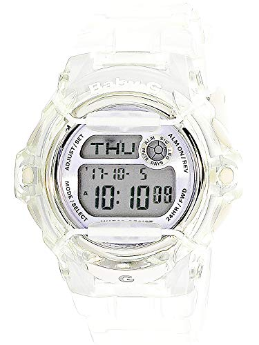 (Casio Baby-G BG169R-7E Semi-Transparent Women's Sports Watch (Purple/Clear))