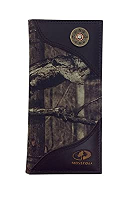 Zeppelin Products Mossy Oak Emblem Camo Long Roper Nylon Wallet