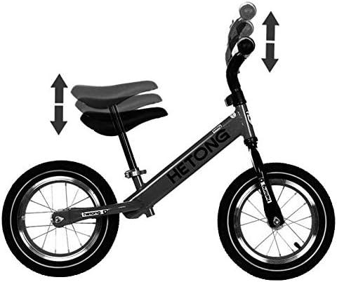 高さ調節可能な子供のバランススクーターバイク新キッズカーバランシング2-6歳の子供スクータースクーター(色:赤) (Color : Blue)