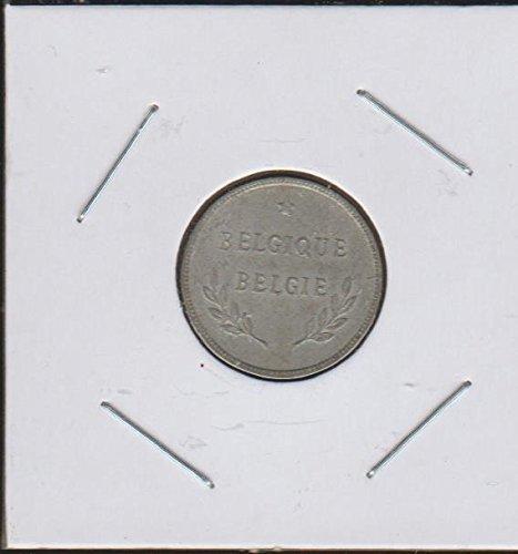 Belgique Coin - 1944 BE Belgique-Belgie $2 Choice Fine Details