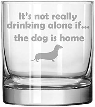 11oz Rocks Whiskey Highball Glass Greyhound Dog