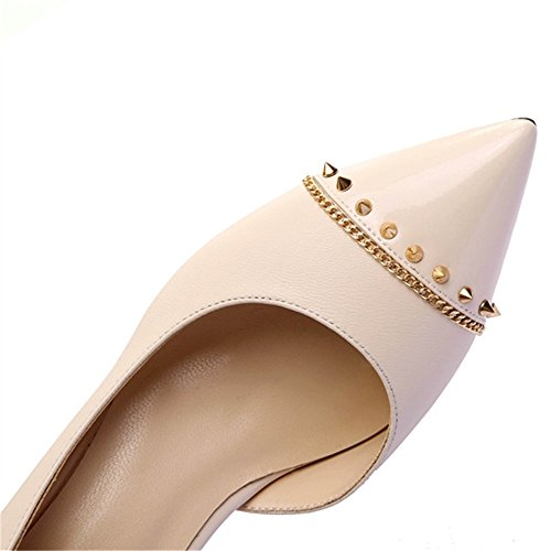 Nine SevenHeels - Sandalias con cuña mujer leather-Nude color