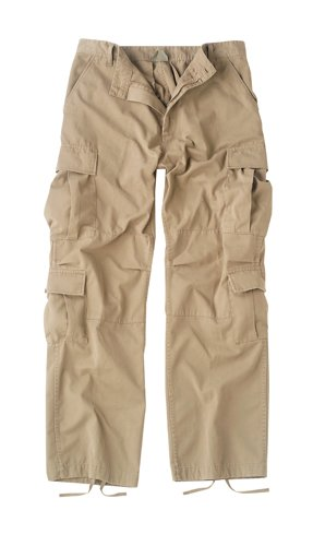 (Rothco Vintage Paratrooper Fatigues, Khaki, Small)