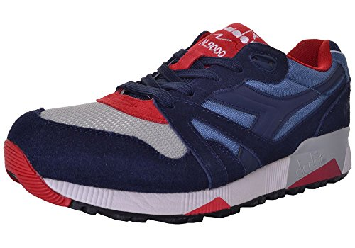 Diadora N9000 Nyl, Sneaker Basse Unisex - Adulto Blu
