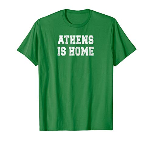 Athens Ohio Is Home City Love Collegiate Style T Shirt