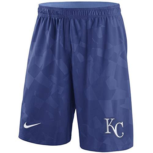 (Kansas City Knit Shorts - Royal (Large))