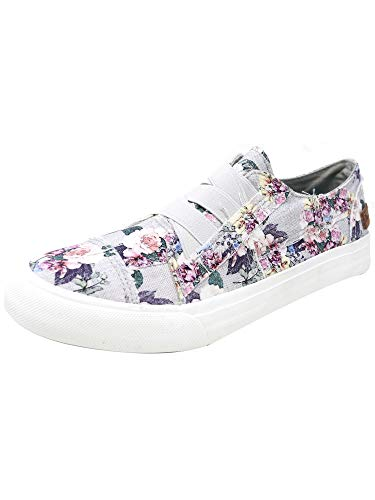 Blowfish Malibu Women's Marley Fashion Sneakers Grey Print 6 M US ()