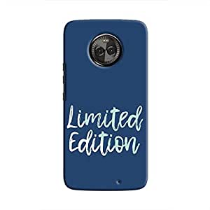 Cover It Up - Limited Edition Blue Moto X4 Hard Case