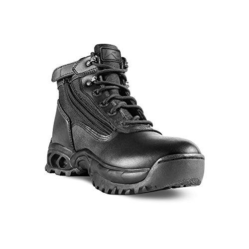 Ridge Footwear Men's Mid Side Zip Boot,Black,10.5 M US (Ridge Mens Slip)