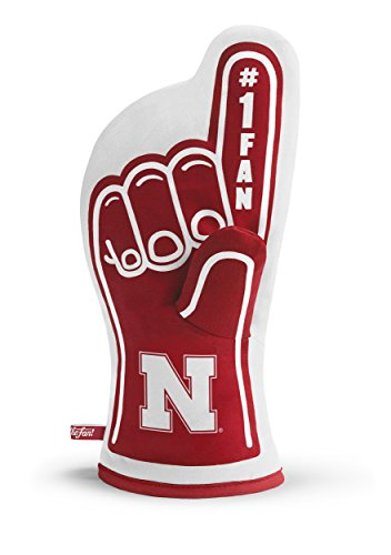 YouTheFan NCAA Nebraska Cornhuskers #1 Oven Mitt ()