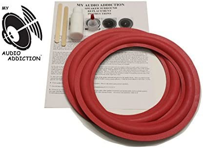 Cerwin Vega 10 inch Refoam Kit for Speaker repair