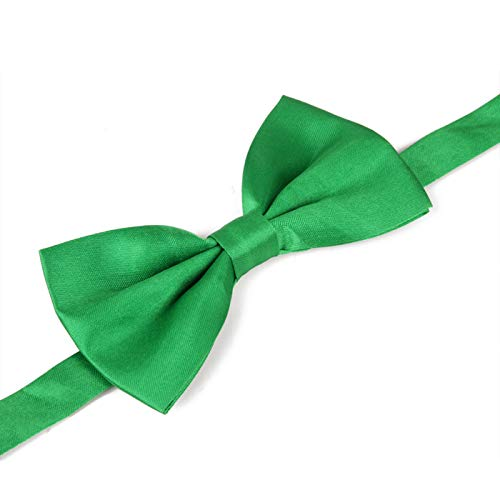 Green Bow Tie for Men St. Patrick's Day Bow Ties Leprechaun -