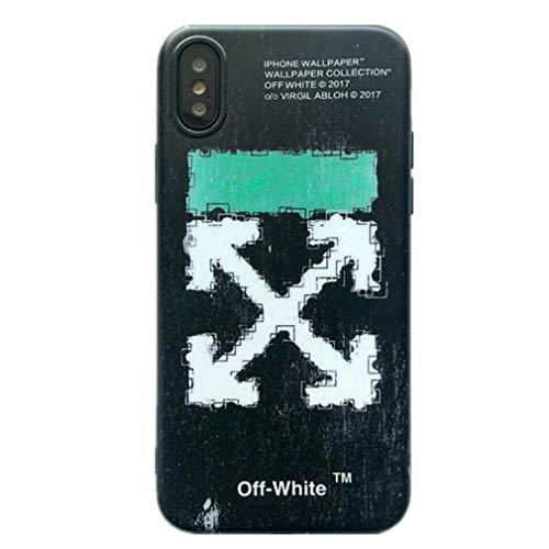 Off-White c/o Virgil Abloh Arrows Logo Mobile Phone Case for Apple iPhone X/iPhone Xs Generation Black Color