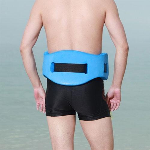 Waistband swimming teaching train equipment swim safety belt float plate for kids children for Flotation belt swimming pool exercise equipment