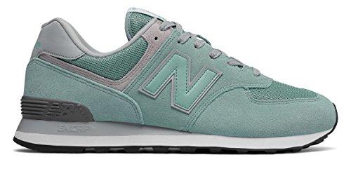 弱いハドル露(ニューバランス) New Balance 靴?シューズ メンズライフスタイル 574 Core Plus Storm Blue with White ブルー ホワイト US 7.5 (25.5cm)