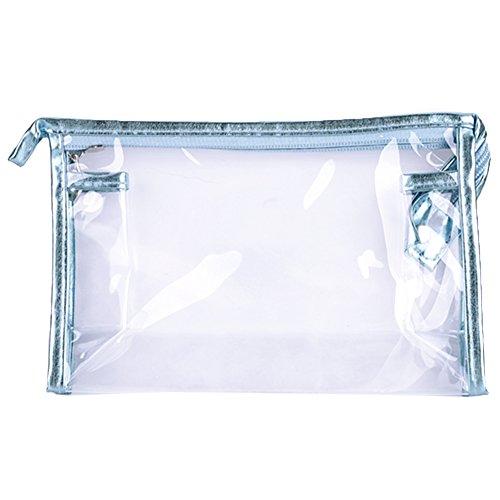 Sealike Waterproof Clear Transparent Pvc Cosmetic Bag