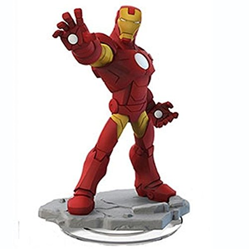 Disney Iron Man (Disney INFINITY: Marvel Super Heroes (2.0 Edition) Iron Man Figure - No Retail Packaging)