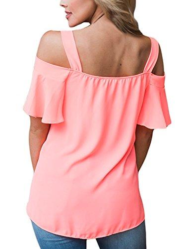 Aleumdr - Camisas - Básico - para mujer Rosa