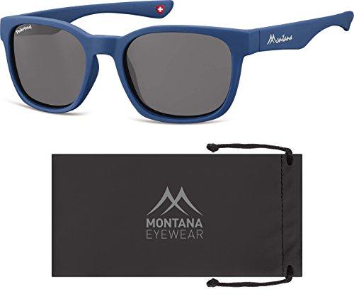 Soleil Lenses Lunettes Montana de Multicolore Smoked Mixte Blue zqExOxwS0