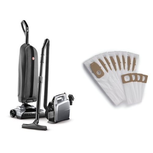 Hoover Platinum Collection Lightweight Bagged Upright with Canister, UH30010COM - Corded and Hoover Type Q & I Bag Bundle, AH10006 Bundle - Hoover Lightweight Upright